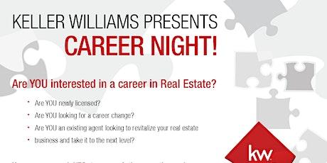 Keller Williams Corona Career Night! tickets