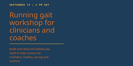 Running Gait Workshop for Coaches and Clinicians tickets