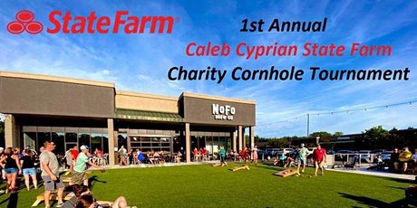 1st Annual - Caleb Cyprian State Farm - Charity Cornhole Tournament tickets