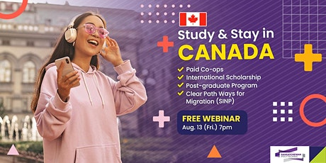 Study and Move to Saskatchewan, Canada this 2021-2022 tickets