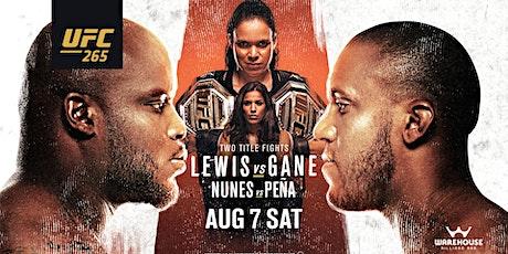 UFC 265 ||| LEWIS VS. GANE tickets