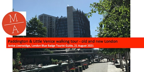 Paddington and Little Venice walking tour - old and new London tickets