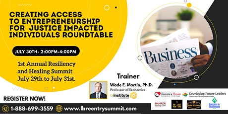 Creating Access to Entrepreneurship tickets