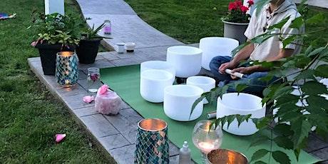 Evening Garden Ceremony & Sound Bath (Outdoor Gathering) tickets