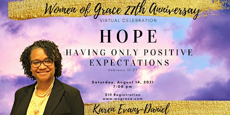 Women of Grace Ministries Anniversary tickets