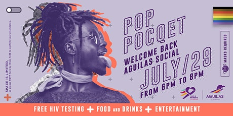 POP POCQET - Welcome Back AGUILAS Social tickets