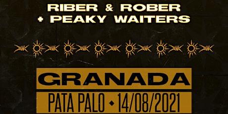 SOL & CRIMEN TOUR -  RIBER & ROBER + PEAKY WITERS - SALA PATA PALO(GRANADA) entradas