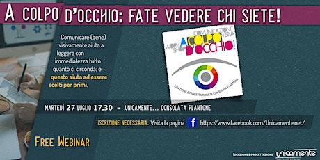 A COLPO D'OCCHIO -  FATE VEDERE CHI SIETE! biglietti