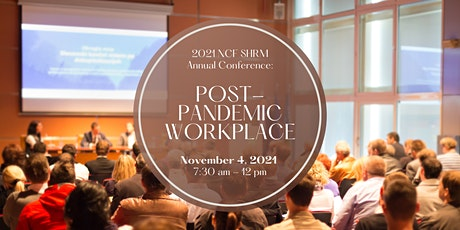 NCF_SHRM Annual Conference: Post-Pandemic Workplace tickets
