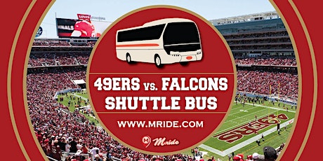 49ers vs. Falcons Levi's Stadium Shuttle Bus - MILL VALLEY DEPARTURE tickets