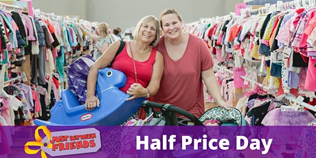 MEGA  Kids' Consignment Sale - Half Price Day tickets