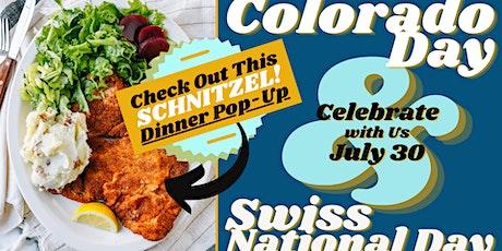 Schnitzel Pop-Up! Swiss National Day & Colorado Day Celebration tickets