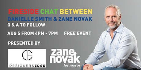Fireside Discussion and Q & A with Mayoral Candidate Zane Novak tickets