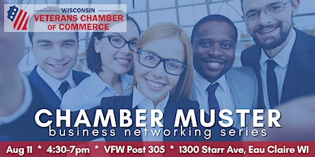 Chamber Muster Eau Claire -- Business Networking Series tickets