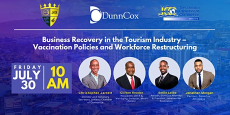 Business Recovery in the Tourism Industry tickets