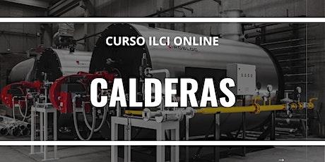 """CURSO ONLINE   """"Seguridad en la operación de calderas"""" entradas"""