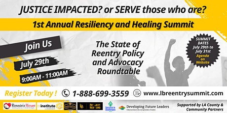 The State of Reentry Policy and Advocacy tickets