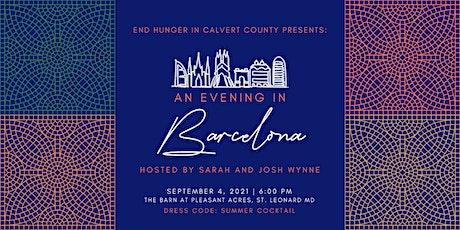 End HungerPresents An Evening in Barcelona | Sarah and Josh Wynne tickets