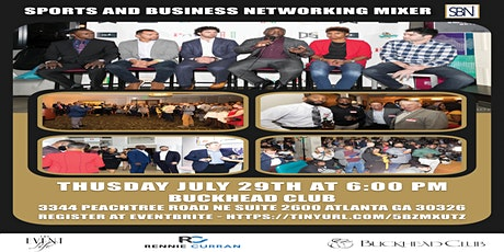 The Sports & Business Networking Mixer: Getting Back In The Game tickets