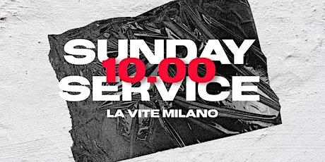 Sunday service biglietti