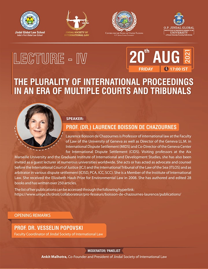 The Plurality of International Proceedings in an Era of Multiple Courts image