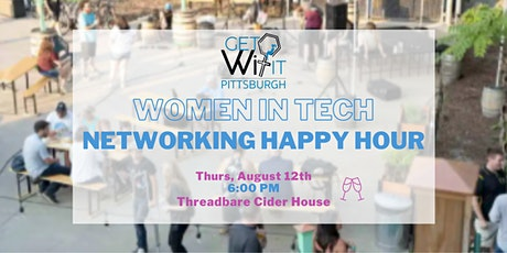 getWITit Pittsburgh - Women in Tech Happy Hour August tickets