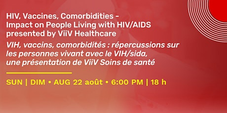 EDUCATE series: HIV, Vaccines, Comorbidities - Impact on People Living with tickets