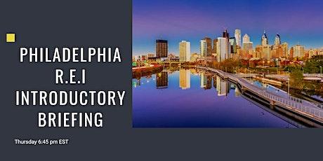 Real Estate Investors Introductory Briefing | Philadelphia (Virtual) tickets