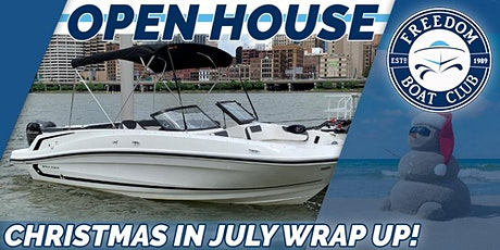 """Christmas in July Sale """"Wrap Up"""" Open House! tickets"""