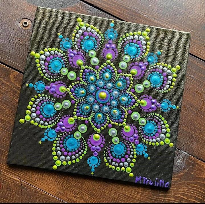 Mandala Painting with Melissa Johnston at Swan Island Dahlias image