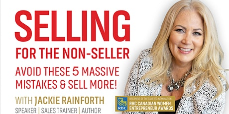Selling for the Non-Seller: Avoid the Top 5 Selling Mistakes! bilhetes