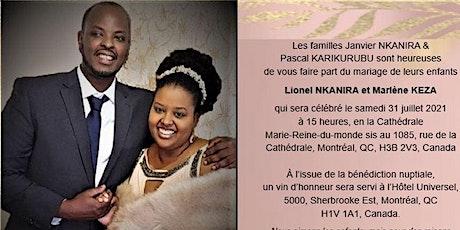 Mariage Lionel et Marlène tickets