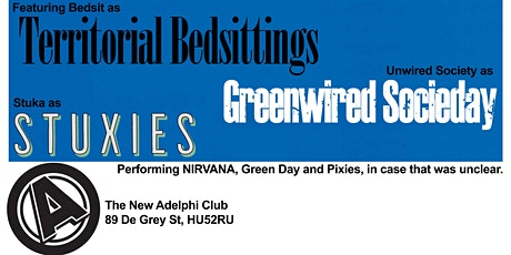 Nevermind 30th Anniversary Tribute Show ft. Bedsit tickets