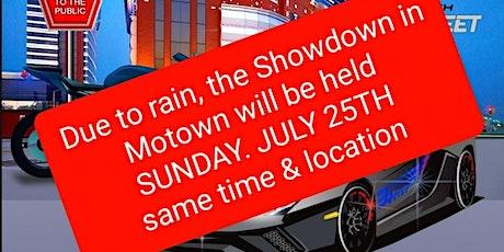 4th Annual Showdown in Motown tickets