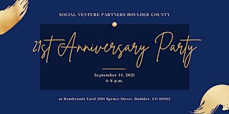 SVP 21st Anniversary Party tickets