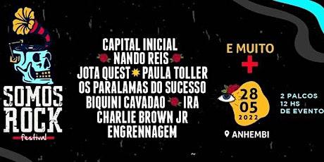 Somos Rock Festival - Excursão de Piracicaba, Americana, SBO e região ingressos