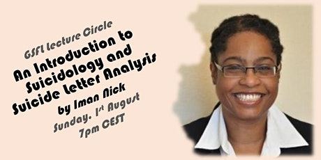 GSFL Lecture - An Introduction to Suicidology and Suicide Letter Analysis tickets