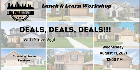 August 11 Lunch and Learn tickets