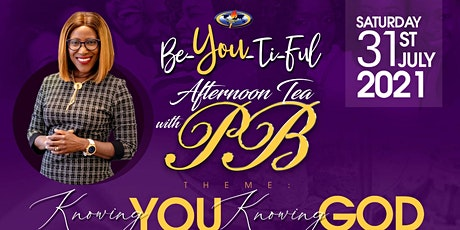 BE-YOU-TIFUL: Afternoon Tea with PB tickets