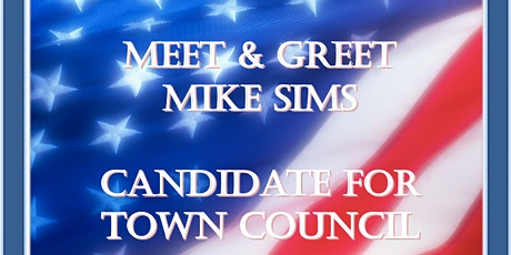 Meet Mike Sims, Candidate for  Clayton Town Council tickets