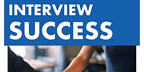 Interview Success Online Workshop - Jul 28 @ 5:30 pm billets