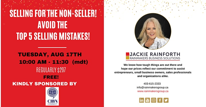Selling for the Non-Seller: Avoid the Top 5 Selling Mistakes! image