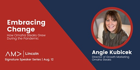 Signature Speaker Series: Embracing Change by Angie Kubicek tickets