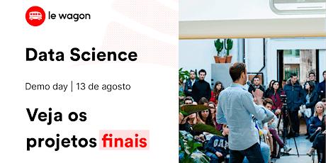 Data Science Demo Day Le Wagon | Veja os projetos finais dos alunos! tickets