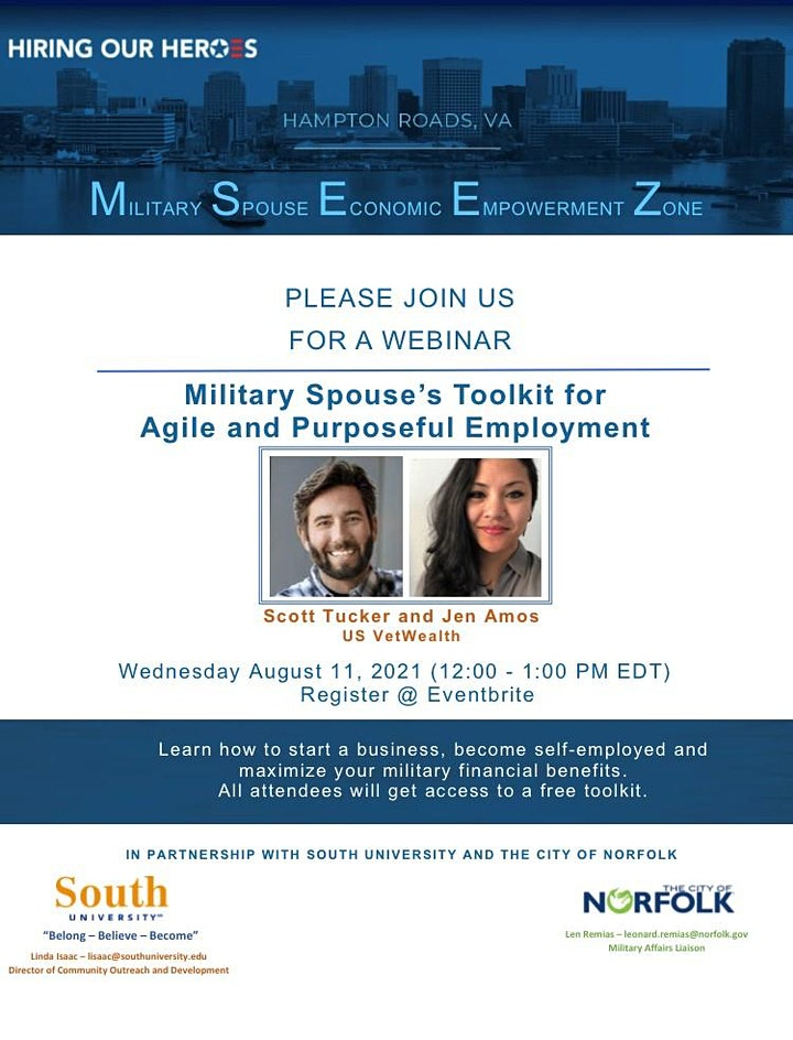 Military Spouse's ToolKit for Agile and Purposeful Employment image