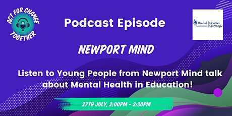 Podcast Episode - Mental Health in Education tickets