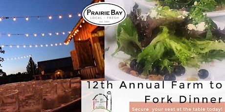 12th  Annual Farm to Fork Dinner tickets