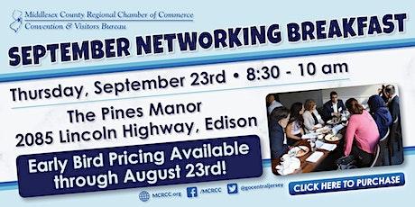 September Networking Breakfast tickets