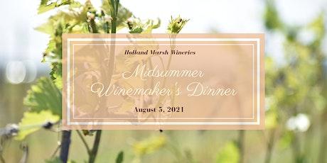 Midsummer Winemaker's Dinner tickets