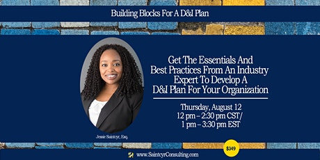 Building Blocks For A Diversity & Inclusion Plan tickets